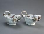 Porslin. Korgar, ett par. 1740-tal - Hallwylska museet - 89181.tif