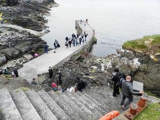 Koltur - Image: Port of Koltur Faroe Islands