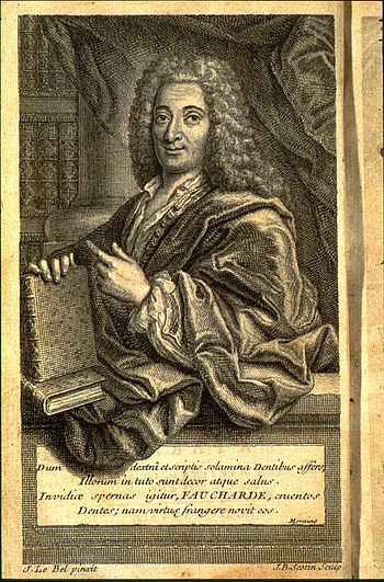 English: *Portrait of Pierre Fauchard's histor...