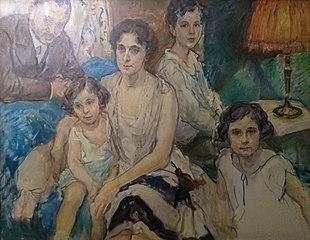 Portrait de la famille Plesch