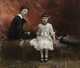 Édouard Pailleron - Portrait of Edouard and Marie-Loise Pailleron, John Singer Sargent, 1881