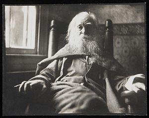 English: Black-and-white photographic portrait...
