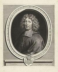 Portret van Pierre-Daniel Huet Petrus Daniel Huetius (titel op object), RP-P-BI-7523.jpg