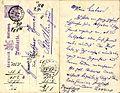 Postkarte an den Kürschner Thomas in Riedlingen wegen eines zahmen Eichhörnchens, 1889.jpg