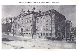 Pottsville, Pennsylvania - The Patterson Building served as the Pottsville Area High School from 1916 to 1933