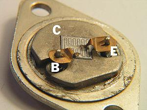 2N3055 - Image: Power Transistor 2N3055 1