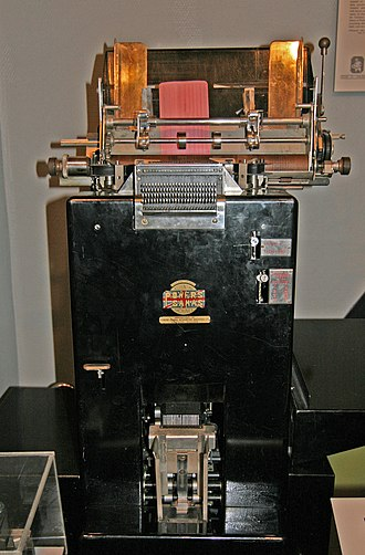 Tabulating machine - Powers-Samas accounting machine