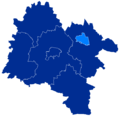 Powiat strzeliński granice gmin i miast mWiązów.png
