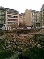 Praha, Nové Město, Národní třída, výstavba Copa Center (T) IV.jpg