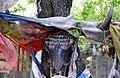 Prayer flags in Tibet on 20 September 2008.jpg