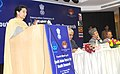 Preneet Kaur addressing at the inauguration of the 4th Regional Meeting of South Asian Forum of Health Research, organised by the Indian Council of Medical Research.jpg