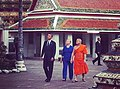 President Obama and Secretary Clinton Tour the Wat Pho Royal Monastery With Chaokun Suthee Thammanuwat (8197058254).jpg