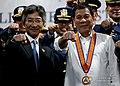 President Rodrigo Duterte and Japanese Ambassador to the Philippines Kazuhide Ishikawa.jpg