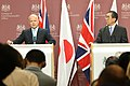 Press conference with Japanese Minister for Foreign Affairs (5684489992).jpg