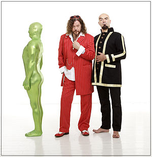 Knorkator - Stumpen, Buzz Dee, Alf Ator (from left)