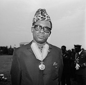 Dictatorship - Mobutu Sese Seko, Zaire's longtime dictator
