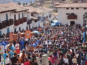 fiesta de la virgen de la asunci243n de chacas wikipedia
