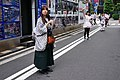 Promotional maids being arrayed in Akiba South Ura street (2015-06-14 05.18.43 by Franklin Heijnen).jpg