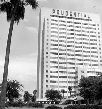 Eight Forty One - Prudential Building in 1960.