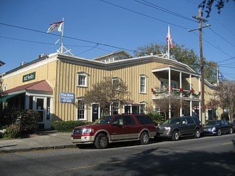 11th Ward of New Orleans - 19th century skating rink on Prytania Street now houses shops