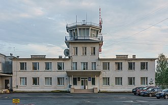 Pskov Airport - Control tower
