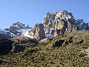 Pt Thomson Batian Nelion Mt Kenya