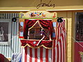 Punch & Judy show at Cowes Week 2011 2.JPG