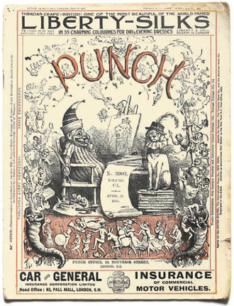 Private Eye - Image: Punch magazine cover 1916 april 26 volume 150 no 3903