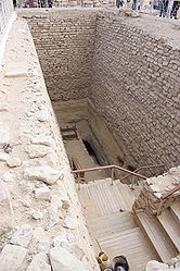 Pyramid of Djoser excavation 2.jpg