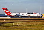 QantasLink Boeing 717-2BL Discover Tasmania logojet.jpg