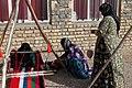 Qashqai women textiling a Jajim..jpg