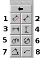 Qcad dimensions toolbar.png