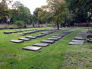Undercliffe Cemetery - Quaker gravestones