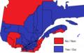 Quebec national sovereignty referendum result by provincial, 1995.png