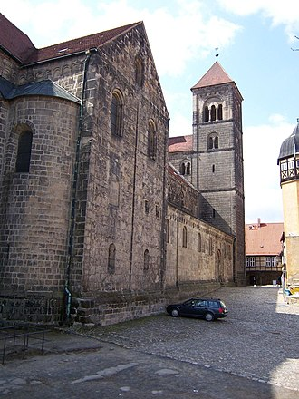 Quedlinburg Abbey - Former collegiate church of St. Servatius in Quedlinburg, now a Lutheran church
