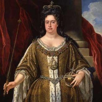 Acts of Union 1707 - Portrait of Queen Anne in 1702, the year she became queen, from the school of John Closterman