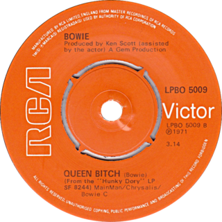 Queen Bitch 2021 song by David Bowie