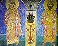 Queen Nana and King Miriani. Fresco. Samtavro, Mtskheta..jpg