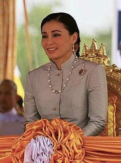 Queen Suthida, Royal ploughing ceremony 2019.jpg