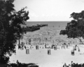 Queensland State Archives 2129 The Jetty and sharkproof enclosure Sandgate December 1937.png