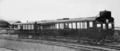 Queensland State Archives 2561 RM47 100hp Leyland rail motor and trailer Roma Street Brisbane 1931.png