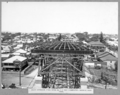 Queensland State Archives 3482 South approach steel span Nos 1 2 and 3 completed showing deck steel Brisbane 29 January 1937.png