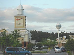 Queenstown, Maryland - Outlet shopping center in Queenstown, Maryland