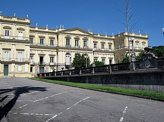 National Museum (Rio de Janeiro) - The former Imperial Palace that housed the National Museum