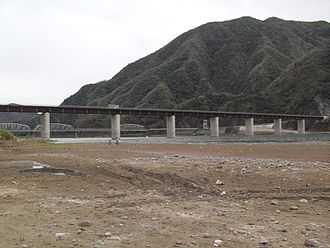 Bantay - The replacement of the famous Quirino Bridge above the Abra River between the province of Santa and Bantay