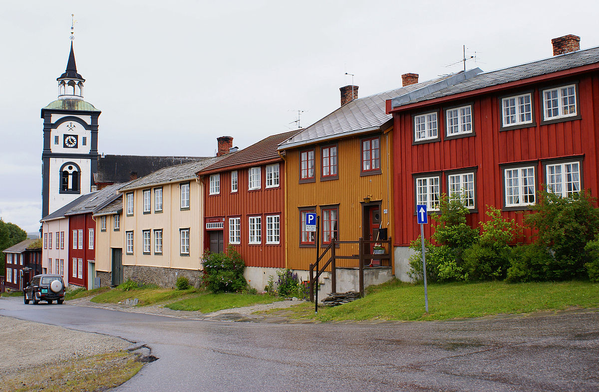 Free Front Elevation Images : Røros town wikipedia
