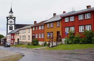 Røros (town) Bergstaden in Central Norway, Norway