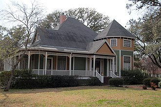 National Register of Historic Places listings in Milam County, Texas - Image: R.F. and Minta Pool House