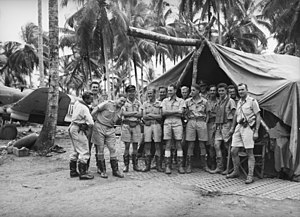 No. 76 Squadron RAAF - RAAF pilots, mainly from No. 76 Squadron, at Milne Bay in September 1942