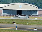 ROCAF F-5F 5387 Taxiing at Hualien Air Froce Base 20170923la.jpg